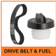 DRIVE BELTS & FUEL CAPS